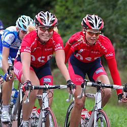 Ladiestour 2008 Hellendoorn <br />DSB Adrie Visser, Danielle Bekkering