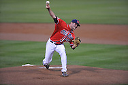 Ole Miss' Sam Smith pitches vs. Murray State at Oxford-University Stadium in Oxford, Miss. on Wednesday, May 2, 2012. Ole Miss won 11-5.