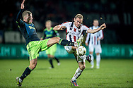 Onderwerp/Subject: Willem II - Ajax - Eredivisie<br /> Reklame:  <br /> Club/Team/Country: <br /> Seizoen/Season: 2012/2013<br /> FOTO/PHOTO: Niek VOSSEBELT (R) of Willem II in duel with Toby ALDERWEIRELD ( Tobias ALDERWEIRELD ) (L) of Ajax. (Photo by PICS UNITED)<br /> <br /> Trefwoorden/Keywords: <br /> #04 $94 ±1342782825903<br /> Photo- & Copyrights © PICS UNITED <br /> P.O. Box 7164 - 5605 BE  EINDHOVEN (THE NETHERLANDS) <br /> Phone +31 (0)40 296 28 00 <br /> Fax +31 (0) 40 248 47 43 <br /> http://www.pics-united.com <br /> e-mail : sales@pics-united.com (If you would like to raise any issues regarding any aspects of products / service of PICS UNITED) or <br /> e-mail : sales@pics-united.com   <br /> <br /> ATTENTIE: <br /> Publicatie ook bij aanbieding door derden is slechts toegestaan na verkregen toestemming van Pics United. <br /> VOLLEDIGE NAAMSVERMELDING IS VERPLICHT! (© PICS UNITED/Naam Fotograaf, zie veld 4 van de bestandsinfo 'credits') <br /> ATTENTION:  <br /> © Pics United. Reproduction/publication of this photo by any parties is only permitted after authorisation is sought and obtained from  PICS UNITED- THE NETHERLANDS