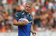 James Lowes (Coach) of Leeds Rhinos during the Betfred Super League match at the Mend-A-Hose Jungle, Castleford<br /> Picture by Stephen Gaunt/Focus Images Ltd +447904 833202<br /> 08/07/2018