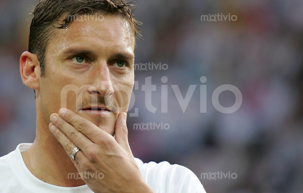 Fussball WM 2006 Halbfinale  Deutschland - Italien Francesco Totti (ITA)