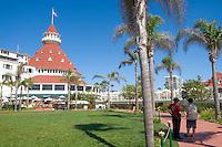 Hotel Del Coronado Pathway, Coronado Island, California