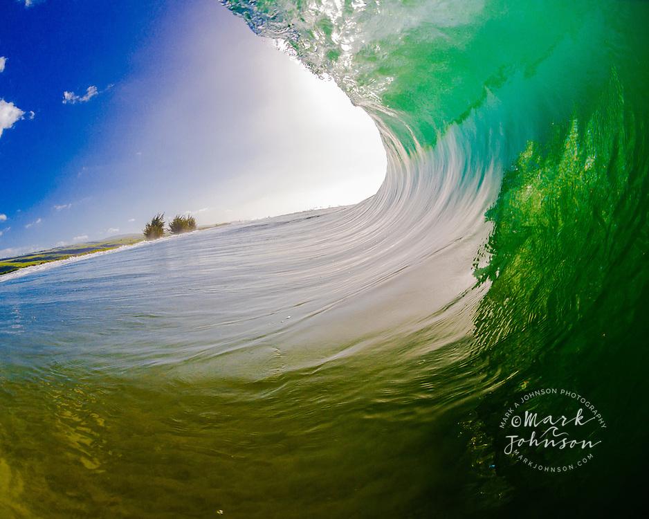 Heaving Pitching Wave, Hawaii