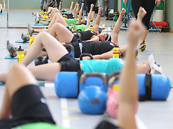 26.06.2012, Therme Geinberg, Geinberg, AUT, OeSV Konditionskurs Damen, im Bild Damen beim Training, EXPA Pictures © 2012, PhotoCredit: EXPA/ R. Hackl
