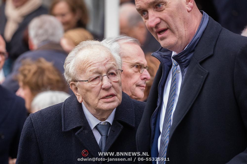 NLD/Rotterdam/20180220 - Herdenkingsdienst Ruud Lubbers, Jos van Kemenade