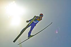 29.12.2010, Schattenbergschanze, Oberstdorf, GER, Vierschanzentournee, Oberstdorf, 1. Wertungsdurchgang, im Bild Janne Ahonen, FIN, during the 59th Four Hills Tournament First Jump in Oberstdorf, EXPA Pictures © 2010, PhotoCredit: EXPA/ P. Rinderer
