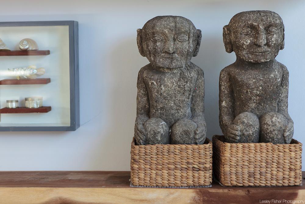 Living room at Villa Akasha, a private villa located in Choeng Mon, Koh Samui, Thailand