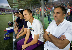 Coach of NK Maribor Darko Milanic at Third Round of Champions League qualifications football match between NK Maribor and FC Zurich,  on August 05, 2009, in Ljudski vrt , Maribor, Slovenia. Zurich won 3:0 and qualified to next Round. (Photo by Vid Ponikvar / Sportida)