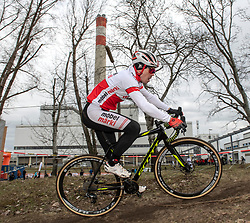 13.01.2019, Wien, AUT, ÖRV, Rad Radcross Staatsmeisterschaft, Herren Elite im Bild Gregor Raggl (AUT, Möbel Märki MTB Pro Team)// during mens elite cyclo cross championship, Vienna, Austria on 2019/01/03. EXPA Pictures © 2019, PhotoCredit: EXPA/ R. Eisenbauer