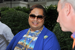 MOHAMMED ABU AL JADAYEL at a garden party hosted by Piaget at The Hempel Hotel, London on 14th July 2011.