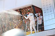 Lewis Hamilton of Mercedes AMG Petronas takes first place in the Spanish Formula One Grand Prix at Circuit de Catalunya, Barcelona<br /> Picture by EXPA Pictures/Focus Images Ltd 07814482222<br /> 14/05/2017<br /> *** UK &amp; IRELAND ONLY ***<br /> <br /> EXPA-EIB-170514-0120.jpg