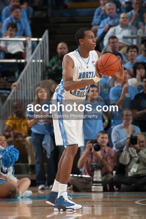 CHAPEL HILL, NC - DECEMBER 04: John Henson #31 of the North Carolina Tar Heels passes the ball while playing the Kentucky Wildcats on December 04, 2010 in Chapel Hill, NC. North Carolina won 75-73.