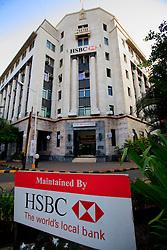 INDIA MUMBAI 29MAY10 - HSBC Fort main building in downtown  Mumbai, India...jre/Photo by Jiri Rezac..© Jiri Rezac 2010