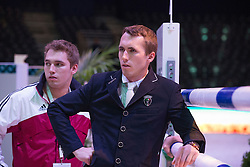 Neretnieks Kristaps (LAT)<br /> Longines FEI World Cup™ Jumping Final 2013/2014<br /> Lyon 2014<br /> © Dirk Caremans