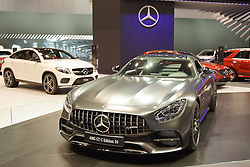 09 February 2017: Mercedes Benz AMG GTC Edition 54 V8 Bi-Turbo 2 door coupe<br /> <br /> First staged in 1901, the Chicago Auto Show is the largest auto show in North America and has been held more times than any other auto exposition on the continent.  It has been  presented by the Chicago Automobile Trade Association (CATA) since 1935.  It is held at McCormick Place, Chicago Illinois<br /> #CAS17