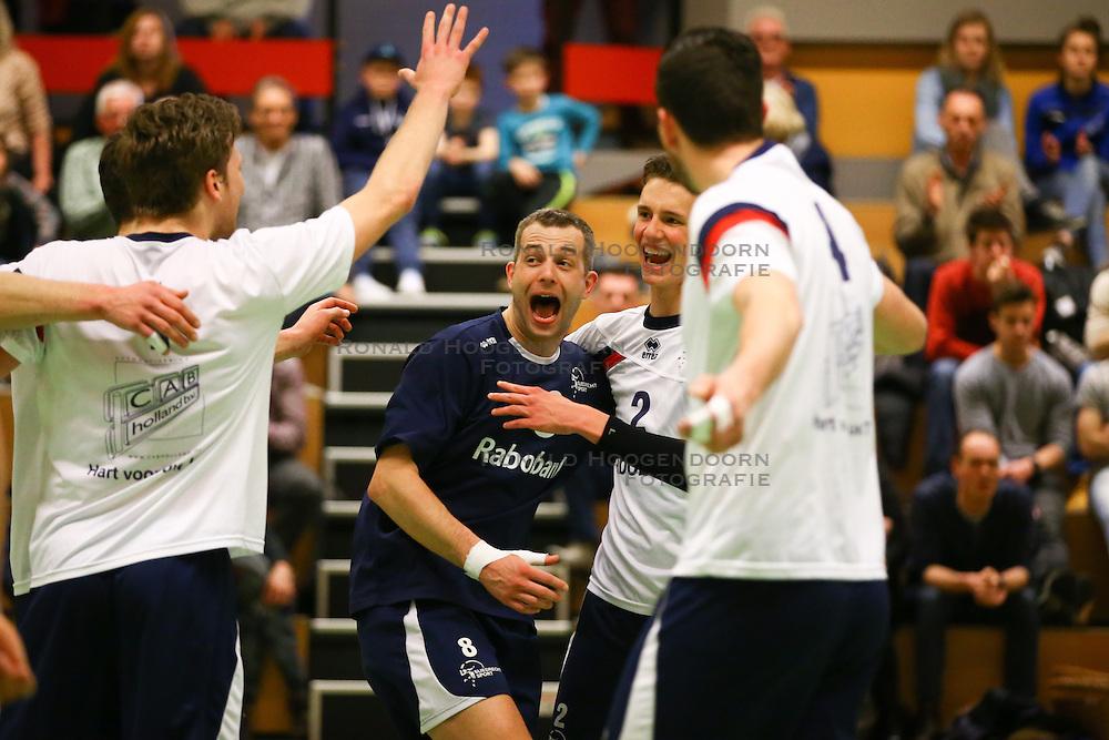 20160326 NED: Volleybal: Sliedrecht Sport - SV Dynamo 2, Sliedrecht  <br />Roy Kroon, Martijn de Haan