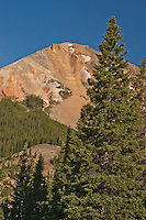 10,875 ft. Red Mountain # 3 in the San Juan Mountains along the Million Dollar HWY, Colorado.