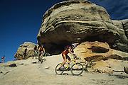 mountain biking on Utah's Gooseberry Mesa