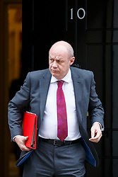© Licensed to London News Pictures. 14/03/2017. London, UK. Work and Pensions Secretary DAMIAN GREEN  leaves Downing Street after a cabinet meeting on Tuesday, 14 March 2017. Photo credit: Tolga Akmen/LNP