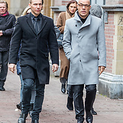 NLD/Amsterdam//20170309 - Herdenkingsdienst Guus Verstraete, Stanley Burleson