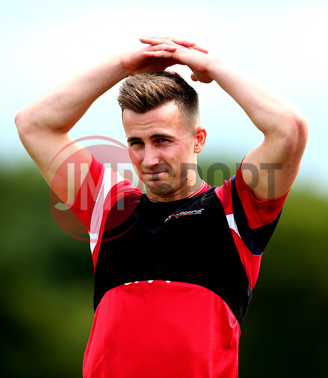 Joe Bryan looks on as Bristol City return to training ahead of their 2017/18 Sky Bet Championship campaign - Mandatory by-line: Robbie Stephenson/JMP - 30/06/2017 - FOOTBALL - Failand Training Ground - Bristol, United Kingdom - Bristol City Pre Season Training - Sky Bet Championship