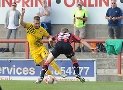 Lee Brown - Mandatory byline: Neil Brookman/JMP - 07966 386802 - 03/10/2015 - FOOTBALL - Globe Arena - Morecambe, England - Morecambe FC v Bristol Rovers - Sky Bet League Two