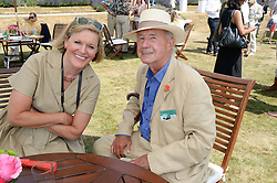SIR TERENCE & LADY CONRAN at the Cartier 'Style et Luxe' part of the Goodwood Festival of Speed, Goodwood House, West Sussex on 14th July 2013.