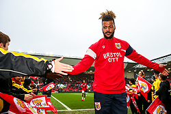 Lois Diony of Bristol City comes in from the warmup - Rogan/JMP - 27/01/2018 - Ashton Gate Stadium - Bristol, England - Bristol City v Queens Park Rangers - Sky Bet Championship.