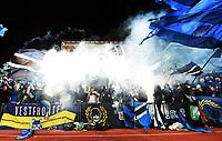 Fotball , 24. september 2014 , NM-semifinale herrer , Stabæk - Molde 0-1<br /> illustrasjon , et fullsatt Nadderud Stadion , tribune ,
