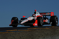Helio Castroneves, Indy Grand Prix of Sonoma, Infineon Speedway, Sonoma, CA USA 8/28/2011