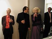 Anthony Fawcett, Joseph la Placa and Pinky. Ellen Cantor: Crazy Treasure Hunt, Anne Faggionato,<br />© Copyright Photograph by Dafydd Jones 66 Stockwell Park Rd. London SW9 0DA Tel 020 7733 0108 www.dafjones.com
