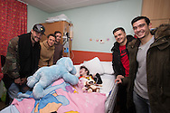 - Dundee players visit Ninewells Hospital to deliver Christmas presents Photo: David Young<br /> <br />  - &copy; David Young - www.davidyoungphoto.co.uk - email: davidyoungphoto@gmail.com