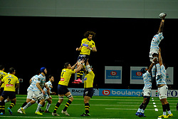 January 8, 2018 - Nanterre, Hauts de Seine, France - Racing Metro 92 Flanker BORIS PALU in action during the French rugby championship Top 14 match between Racing Metro 92 and Clermont at U Arena Stadium in Nanterre - France.Racing won 58-6 (Credit Image: © Pierre Stevenin via ZUMA Wire)