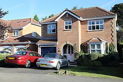 Large detached houses