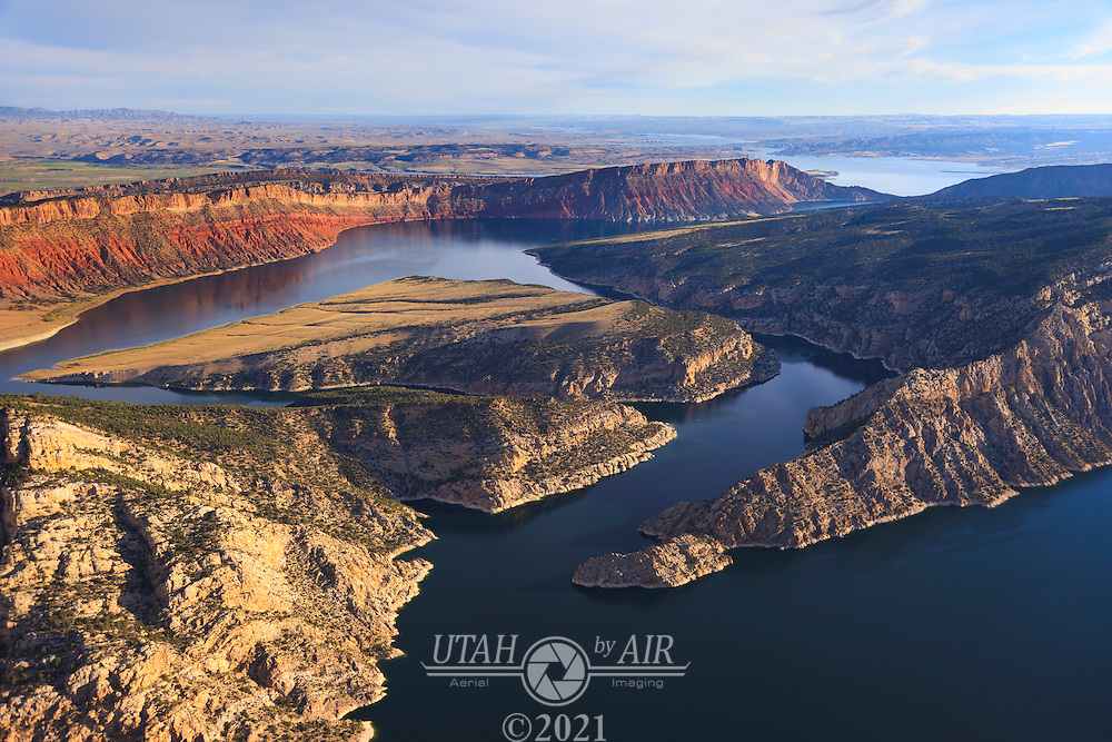 Kingfisher Island at Flaming Gorge Reservoir