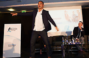 11/05/2017 Pictured at the Bord G&aacute;is Energy Leadership, Building a Winning Team, business conference at The Clayton Hotel, Galway was Connacht Head Coach, Pat Lam, <br /> <br />  Lam, Canning and Walsh all took part in a panel discussion on Creating a winning culture and what it takes that inspired the almost 150 business attendees.  <br /> <br /> The line-up of expert speakers also included motivational expert Pat Divilly, Director of Executive Education at the Irish Management Institute, Dr Colm Foster and Stewart Dunne, partner at BDO. <br /> <br /> For further information please see http://www.bgebusinesshub.ie/event/leadership<br /> .   Photo:Andrew Downes, xposure
