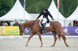 Despontin Julien (BEL) - Waldano 36 <br /> Dressage<br /> CCI3*  Luhmuhlen 2014 <br /> © Hippo Foto - Jon Stroud
