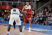 Andrea Cinciarini<br /> A   X Armani Exchange Milano - Leonessa Germani Brescia<br /> LBA Lega Basket Serie A<br /> Zurich Connect Supercoppa 2018<br /> Brescia, 29/09/2018<br /> Foto MarcoBrondi / Ciamillo-Castoria
