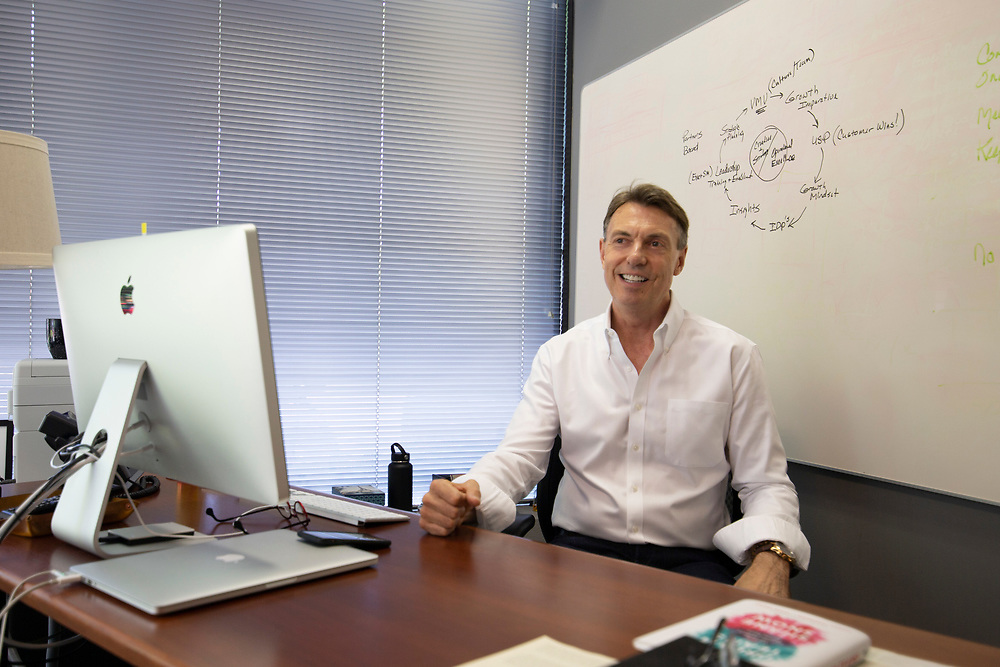 Opus Agency is a winner in The Oregonian/OregonLive's 2018 Top Workplaces competition. Monte Wood is the  President and CEO of Opus Agency. Photo by Randy L. Rasmussen