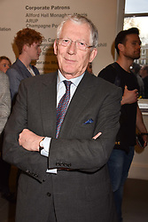 Nick Hewer at a preview of the 'From Selfie To Self-Expression' exhibition at The Saatchi Gallery, Duke Of York's HQ, King's Road, London, England. 30 March 2017.