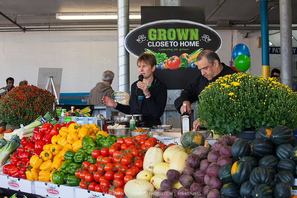 Fresh Fest, the first public event at the Ontario Food Terminal Sept 22, 2012.