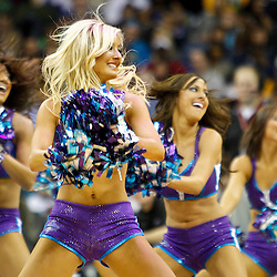 January 22, 2011; New Orleans, LA, USA; New Orleans Hornets Honeybees dancers perform during the fourth quarter of a game against the San Antonio Spurs at the New Orleans Arena. The Hornets defeated the Spurs 96-72.  Mandatory Credit: Derick E. Hingle
