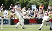 NZ Black Caps opening batsman and test debutant Tim McIntosh.<br />New Zealand v West Indies, First Test Match, National Bank Test Series, University Oval, Dunedin, Thursday 11 December 2008. Photo: Andrew Cornaga/PHOTOSPORT