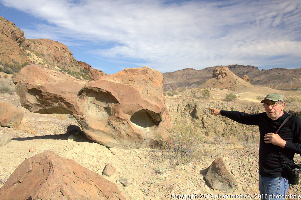 Indian Head trail to petroglyphs