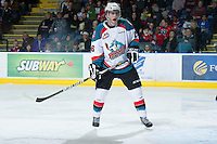 KELOWNA, CANADA - DECEMBER 30: Cole Linaker #26 of the Kelowna Rockets skates on the ice against the  Everett Silvertips at the Kelowna Rockets on December 30, 2012 at Prospera Place in Kelowna, British Columbia, Canada (Photo by Marissa Baecker/Shoot the Breeze) *** Local Caption ***