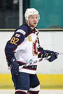 16 Jan 2010: Guildford, England. Jez Lundin of Guildford Flames looks on during the English Premier League match between Guildford Flames  Manchester Phoenix at Guildford (photo by Andrew Tobin/Slik Images)