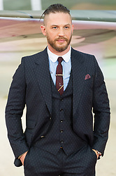 © Licensed to London News Pictures. 13/07/2017. London, UK. TOM HARDY attends the Dunkirk World Film Premiere. Photo credit: Ray Tang/LNP