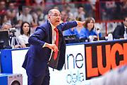 DESCRIZIONE : Varese Lega A 2014-15 Openjobmetis Varese Sidigas Avellino<br /> GIOCATORE : Attilio Caja<br /> CATEGORIA : Allenatore Coach Mani Esultanza espressioni <br /> SQUADRA : Openjobmetis Varese<br /> EVENTO : Campionato Lega A 2014-2015<br /> GARA : Openjobmetis Varese Sidigas Avellino<br /> DATA : 10/05/2015<br /> SPORT : Pallacanestro<br /> AUTORE : Agenzia Ciamillo-Castoria/M.Ozbot<br /> Galleria : Lega Basket A 2014-2015 <br /> Fotonotizia: Varese Lega A 2014-15  Openjobmetis Varese Sidigas Avellino
