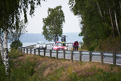 Bepink Team at Ladies Tour of Norway 2018 Team Time Trial, a 24 km team time trial from Aremark to Halden, Norway on August 16, 2018. Photo by Sean Robinson/velofocus.com