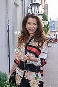 2018, 4 juli. Bumbu Kitchen, Amsterdam. Lancering GTST magazine. Op de foto: Caroline de Bruijn